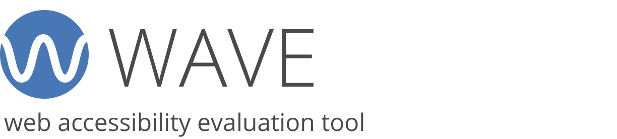 WAVE Web Accessibility Evaluation Tool logo